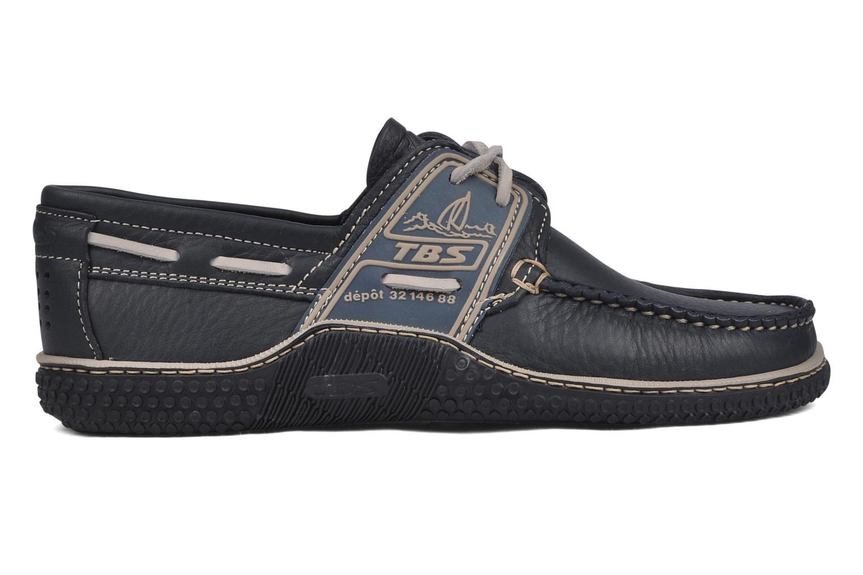 Chaussures à lacets TBS Globek Bleu vue derrière