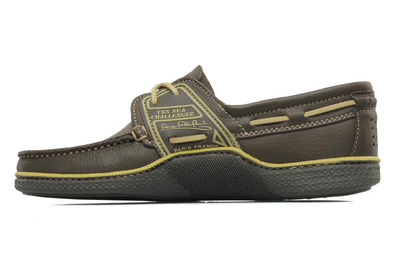 Zapatos con cordones TBS Globek Verde vista de frente