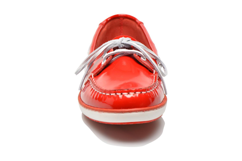 Chaussures à lacets TBS Clamer Rouge vue portées chaussures