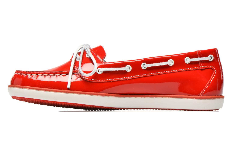 Chaussures à lacets TBS Clamer Rouge vue face