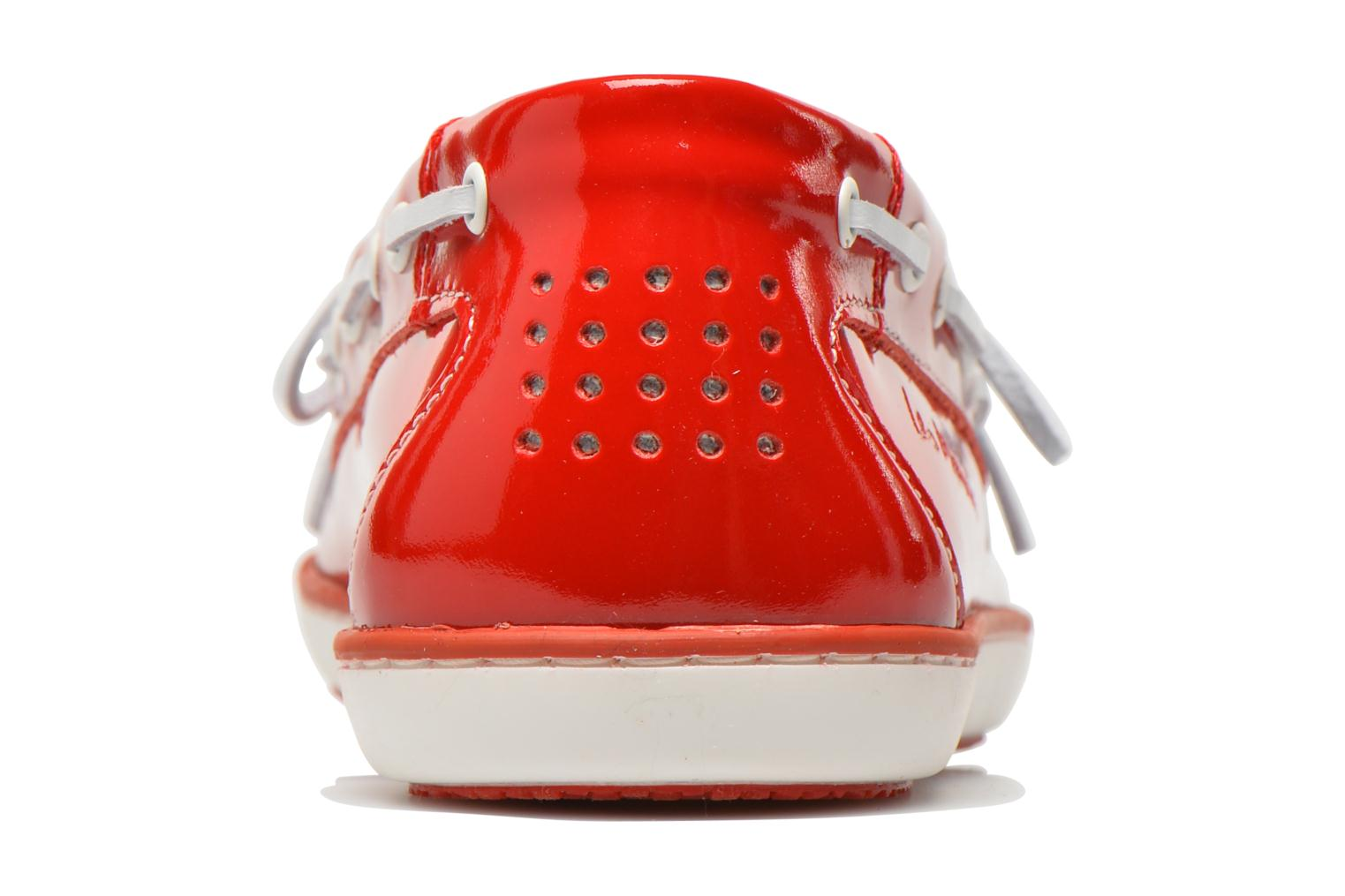 Lace-up shoes TBS Clamer Red view from the right