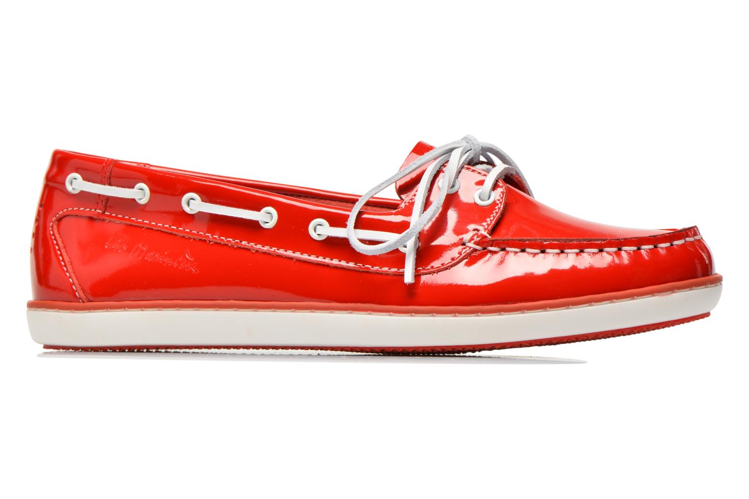 Lace-up shoes TBS Clamer Red back view