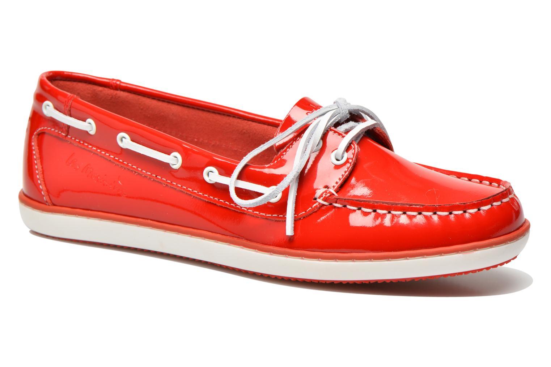 Chaussures à lacets TBS Clamer Rouge vue détail/paire
