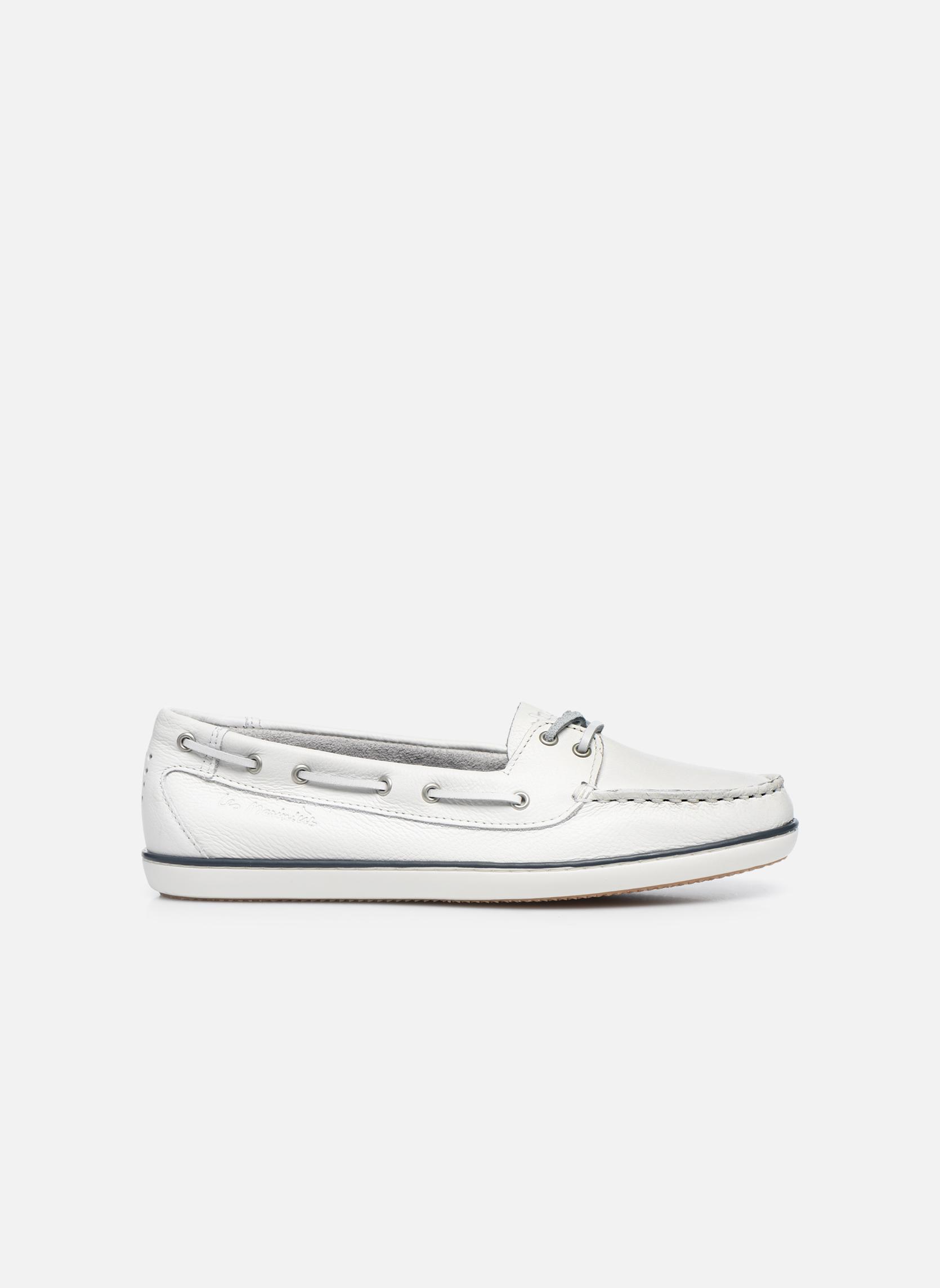 Chaussures à lacets TBS Clamer Blanc vue derrière