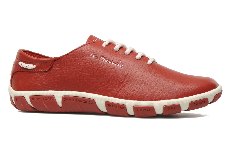 Chaussures à lacets TBS Jazaru Rouge vue derrière
