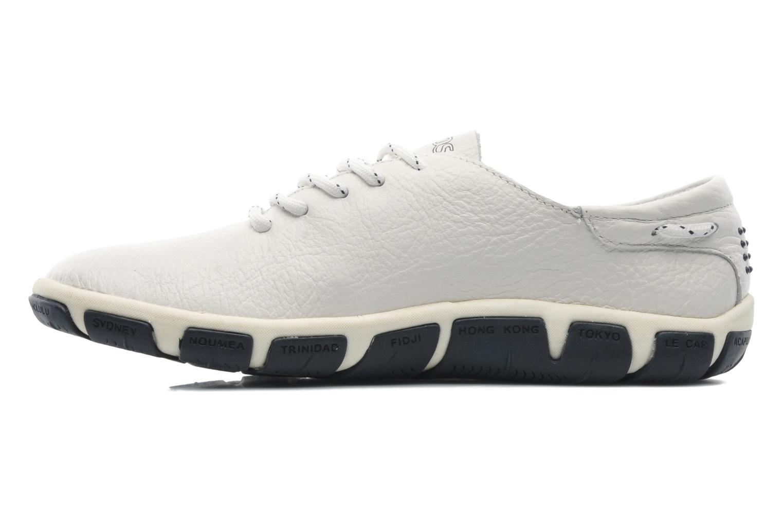 Chaussures à lacets TBS Jazaru Blanc vue face