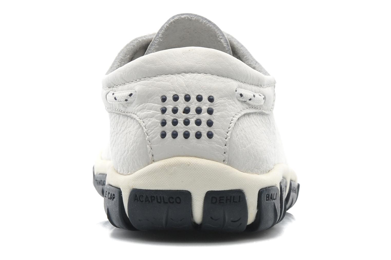 Chaussures à lacets TBS Jazaru Blanc vue droite