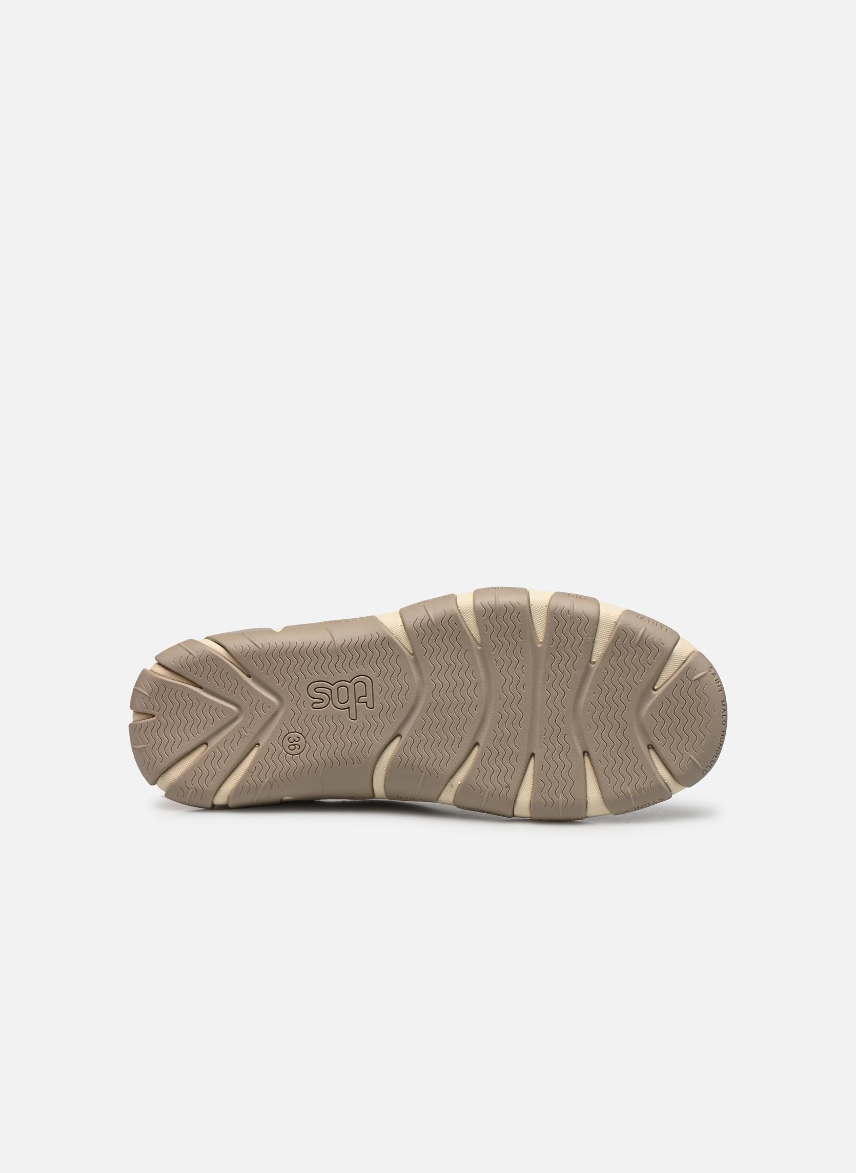 Zapatos con cordones TBS Jazaru Beige vista de arriba