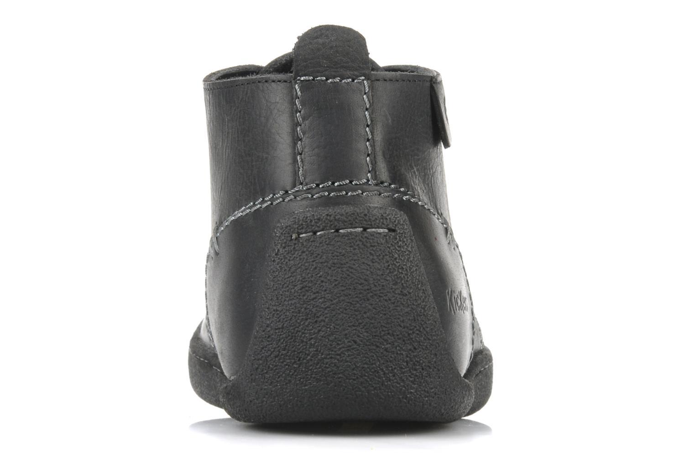 Chaussures à lacets Kickers Indiana Noir vue droite