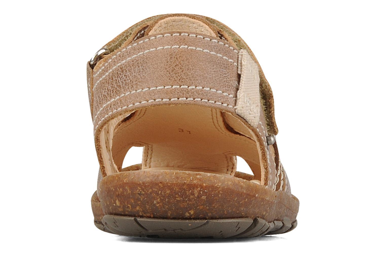 Sandali e scarpe aperte Primigi Torquato Marrone immagine destra