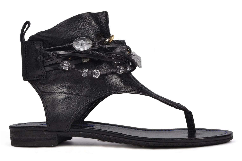 Sandales et nu-pieds Janet & Janet Follini Noir vue derrière