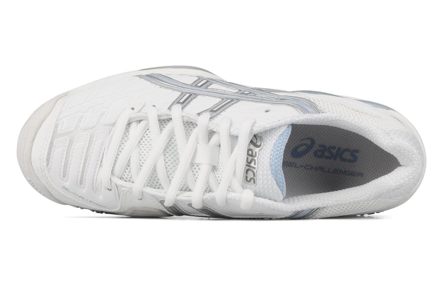 Sport shoes Asics Lady gel challenger 8 White view from the left