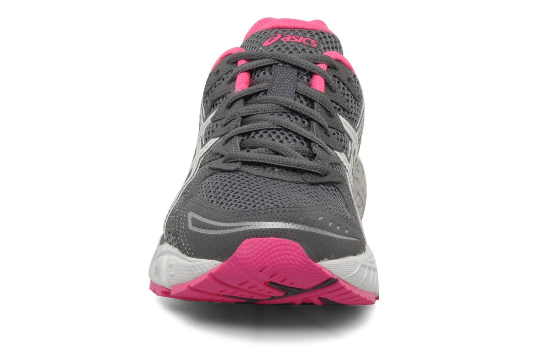 Chaussures de sport Asics Lady gel virage 6 Gris vue portées chaussures