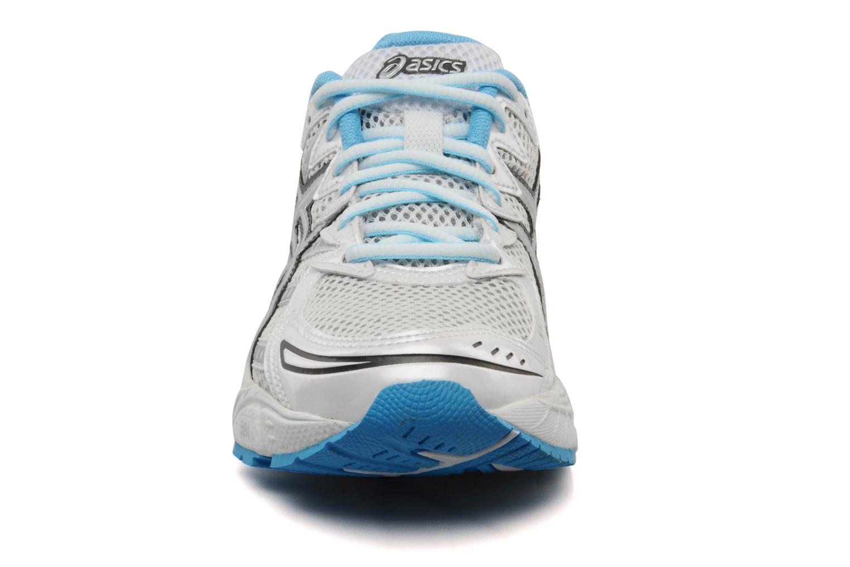 Chaussures de sport Asics Lady gel virage 6 Blanc vue portées chaussures