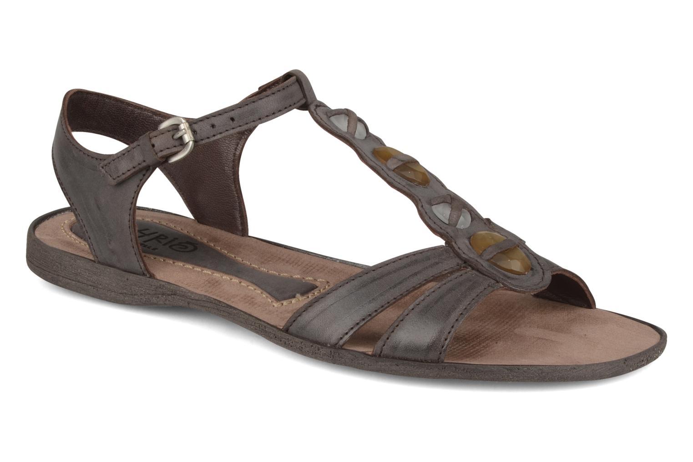 Sandales et nu-pieds Khrio Shelby Marron vue détail/paire