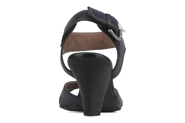 Sandales et nu-pieds Khrio Cherley Noir vue droite