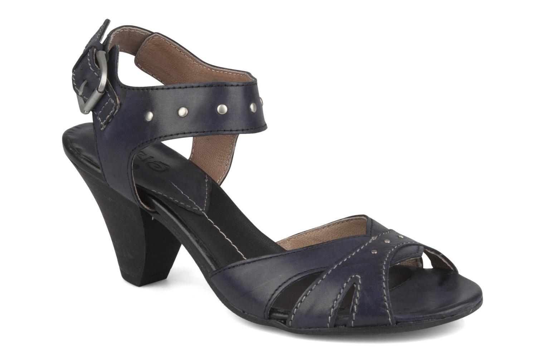 Sandales et nu-pieds Khrio Cherley Noir vue détail/paire