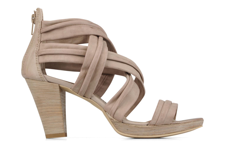 Sandales et nu-pieds Khrio Flana Beige vue derrière