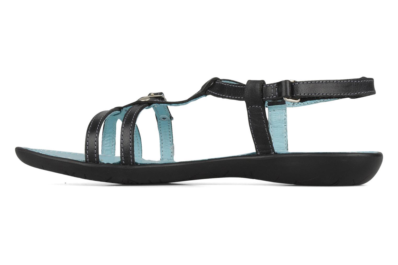 Sandals Ramdam by GBB Nanterre Black front view