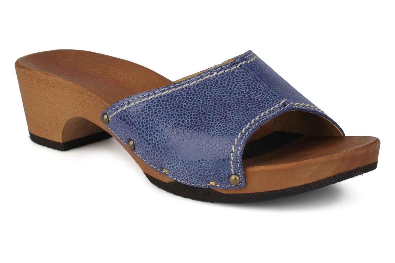 Clogs & Pantoletten Giesswein Doren blau detaillierte ansicht/modell