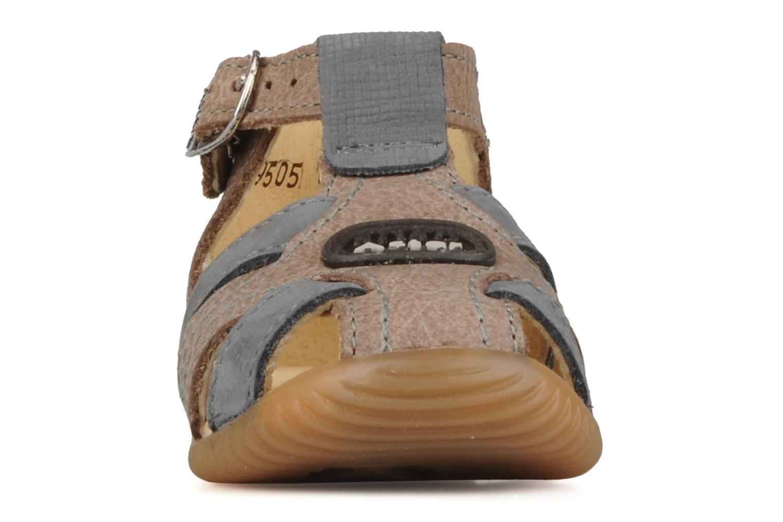 Bottines et boots Aster Dakota Marron vue portées chaussures