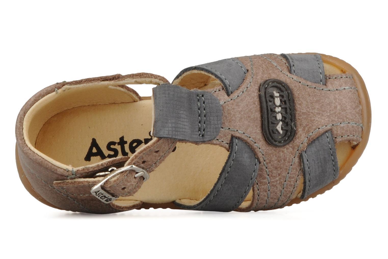 Bottines et boots Aster Dakota Marron vue gauche