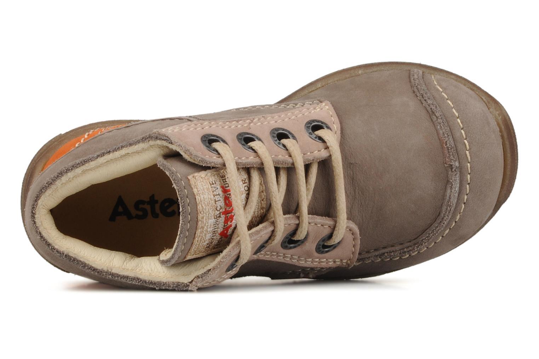 Bottines et boots Aster Tilo Beige vue gauche