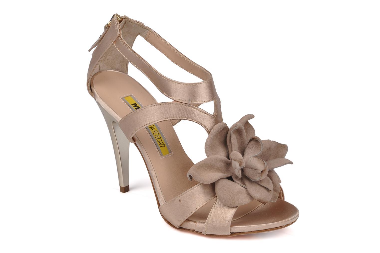 Sandales et nu-pieds Manas Floralia Rose vue détail/paire
