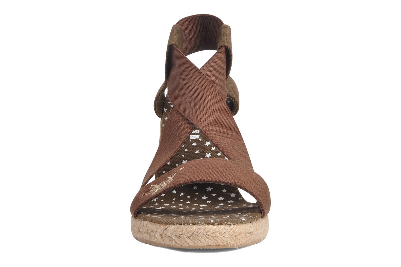 Sandali e scarpe aperte U.S Polo Assn. Naomi 4163s1 Marrone modello indossato
