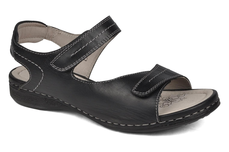 Sandales et nu-pieds Caprice Lysandra Noir vue détail/paire