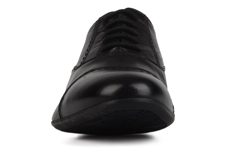 Lace-up shoes Doucal's Yann Black model view