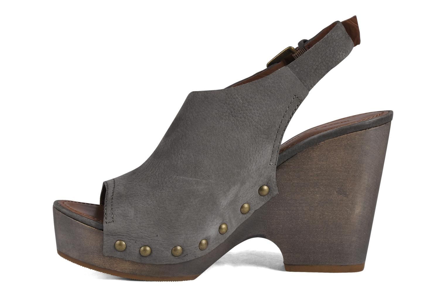 Wedges Marc O'Polo Tracy Grijs voorkant