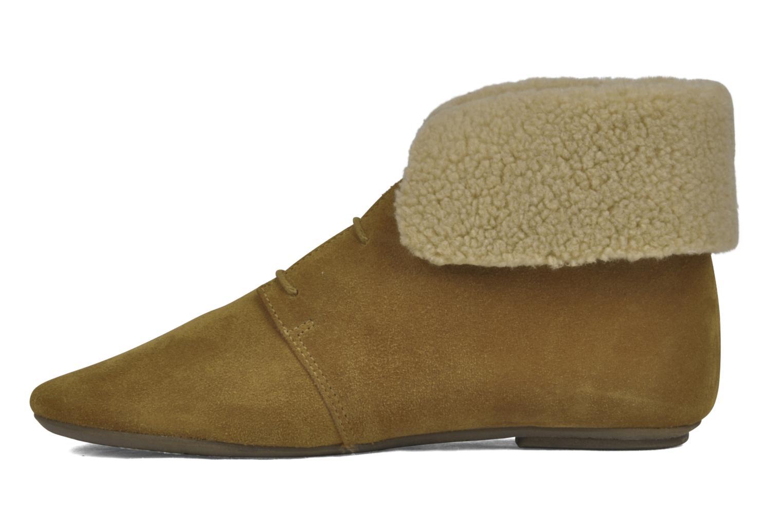 Boots en enkellaarsjes Jonak Moumi Bruin voorkant