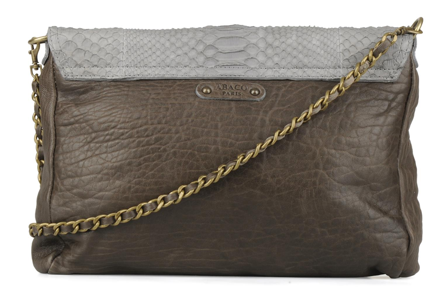 Clutch bags Abaco Charmy Grey front view
