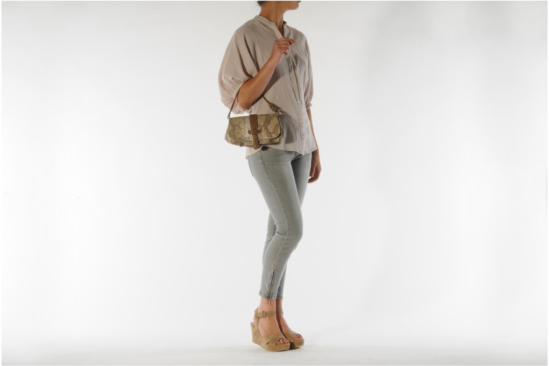 Handtaschen Abaco Beauty beige ansicht von oben