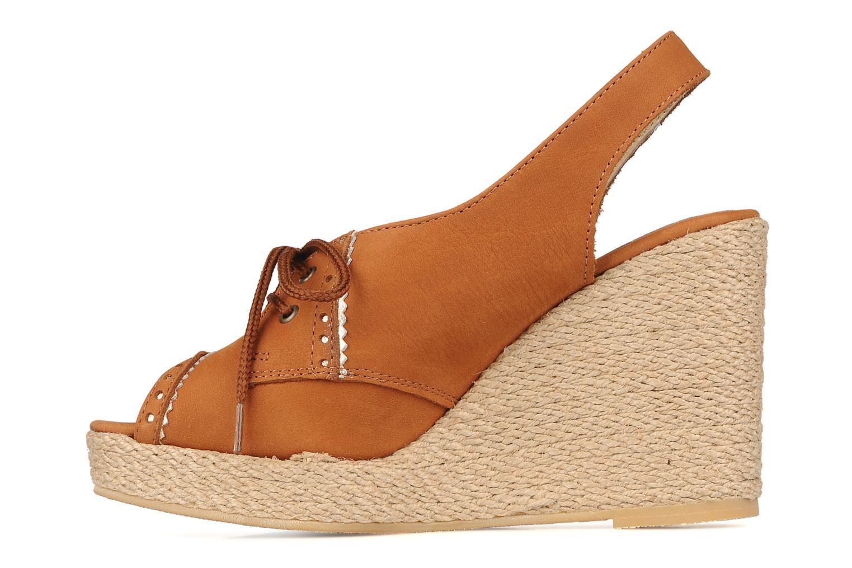 Sandalen Pare Gabia Climone braun ansicht von vorne