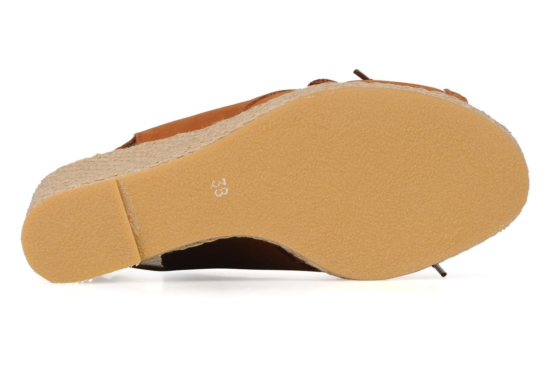 Sandalen Pare Gabia Climone braun ansicht von oben