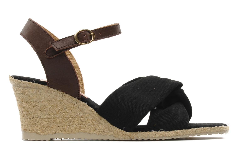 Sandalen Pare Gabia Sorela schwarz ansicht von hinten