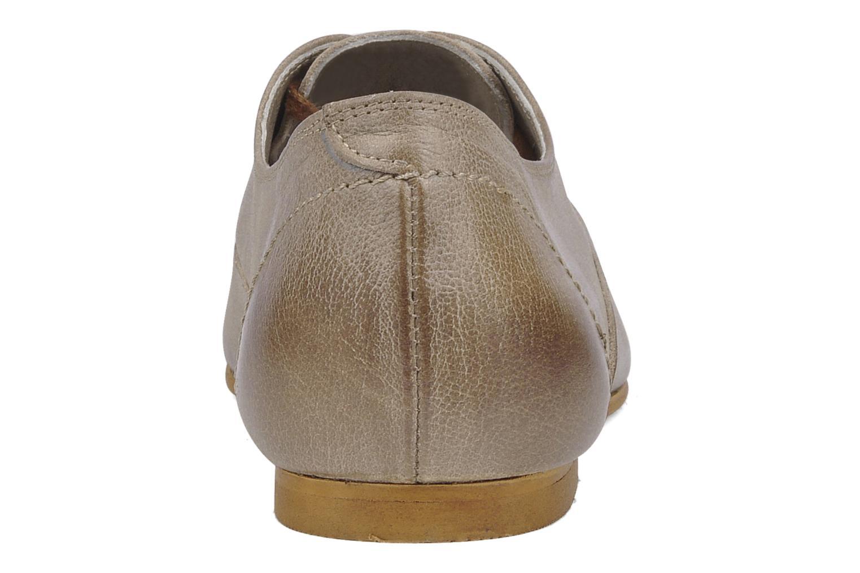 Scarpe con lacci Addict-Initial Zota Marrone immagine destra
