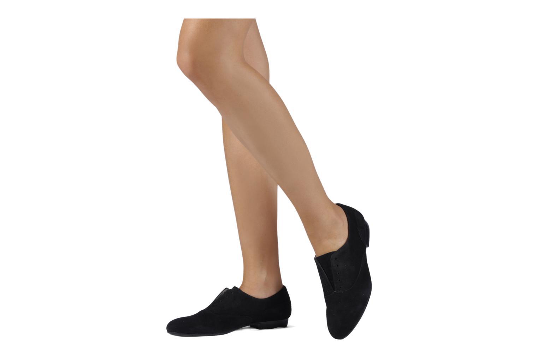Chaussures à lacets Georgia Rose Saïan Noir vue bas / vue portée sac