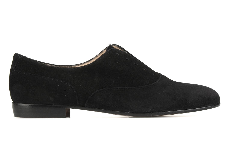 Chaussures à lacets Georgia Rose Saïan Noir vue derrière