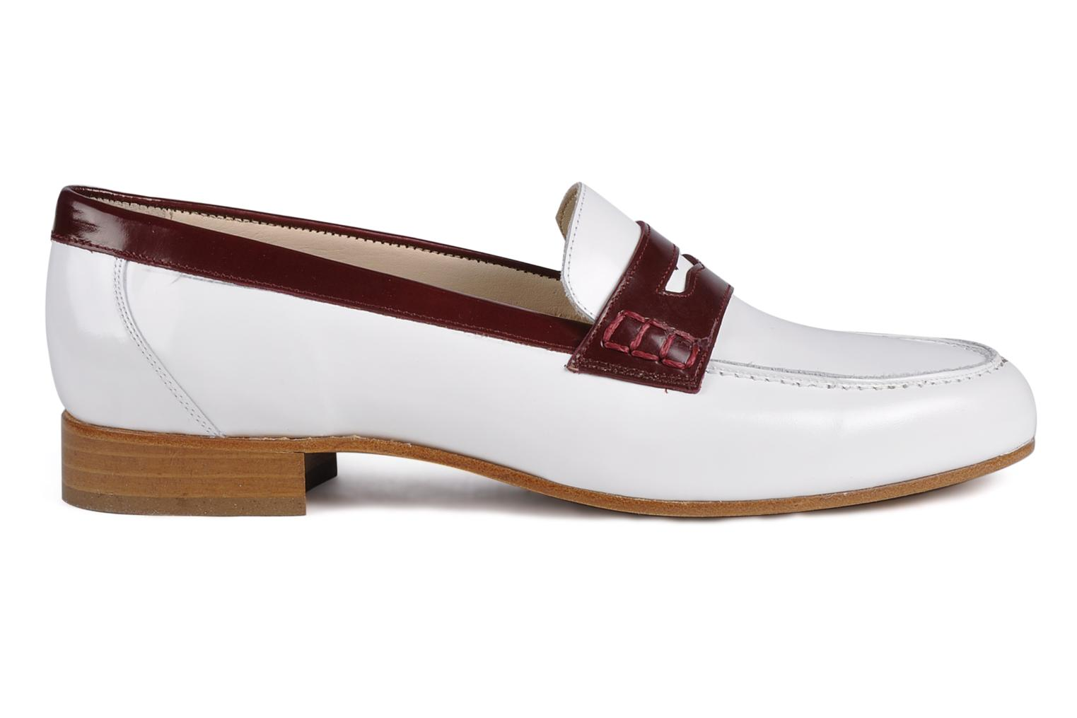 Loafers Georgia Rose Massaï White back view