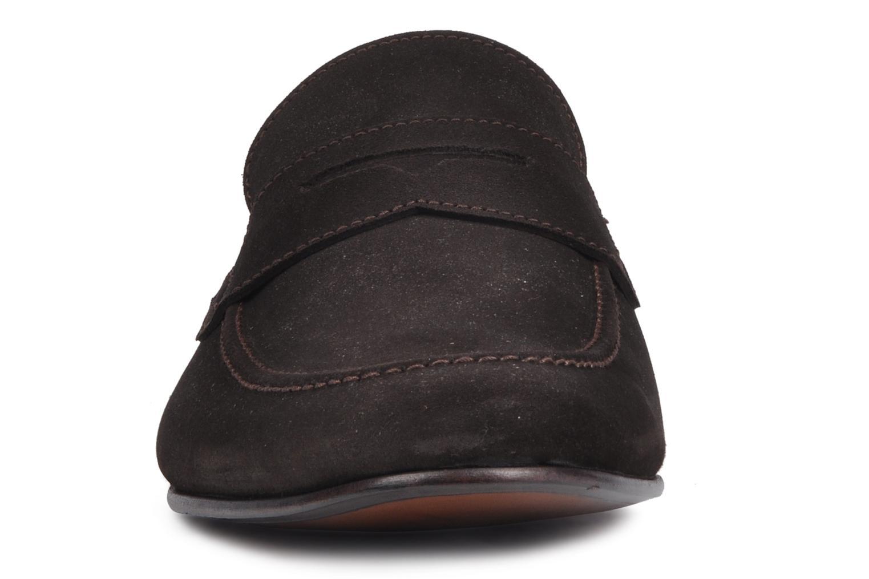 Slipper Marvin&Co Bradley braun schuhe getragen