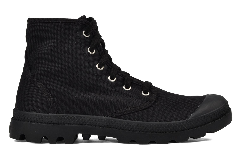 Boots en enkellaarsjes Palladium Us pampa hi m Zwart achterkant