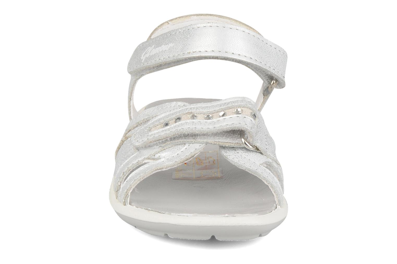 Sandalen Rose & Martin Noune silber schuhe getragen
