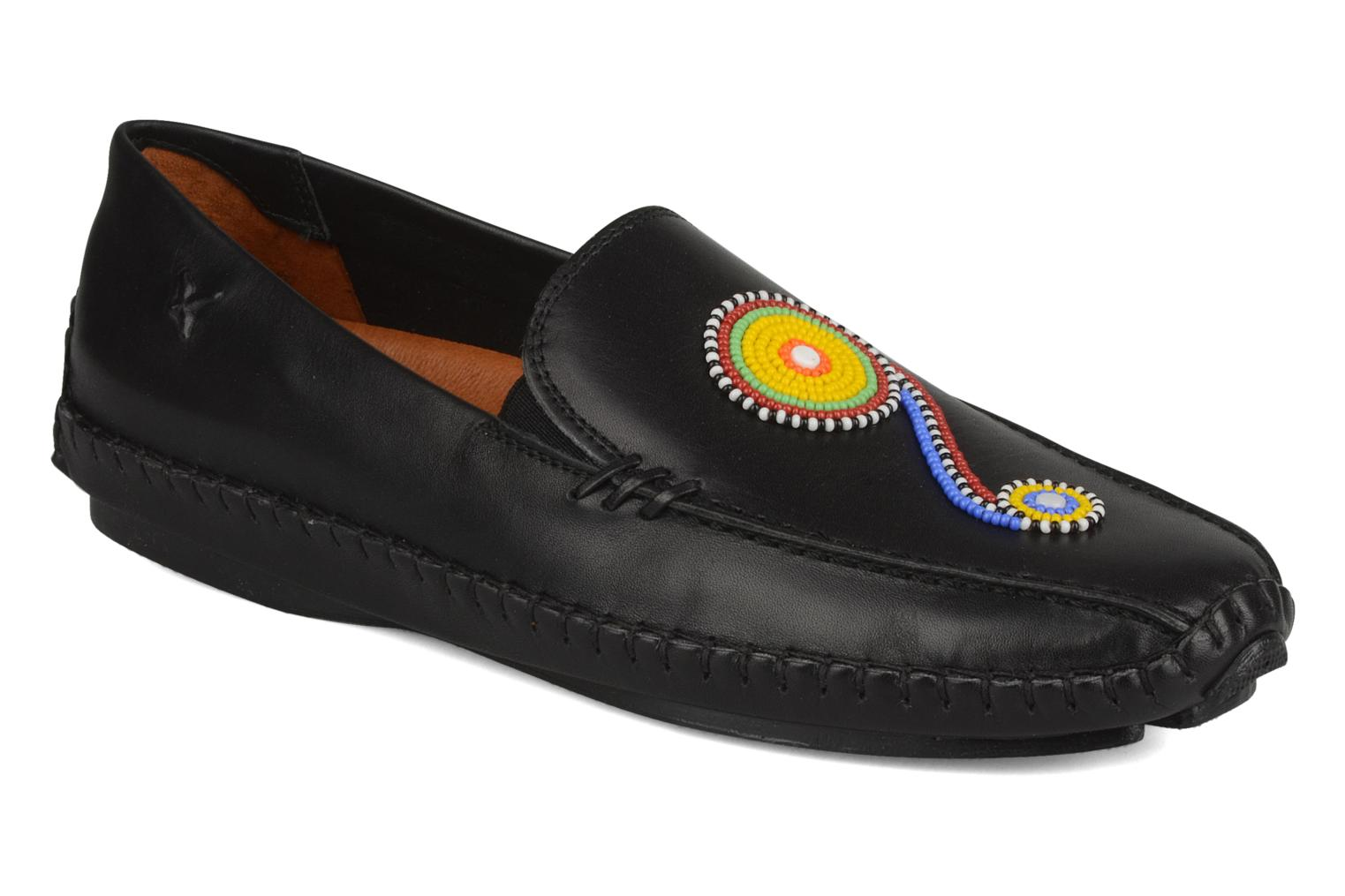 Loafers Pikolinos Jerez 8242 Black detailed view/ Pair view
