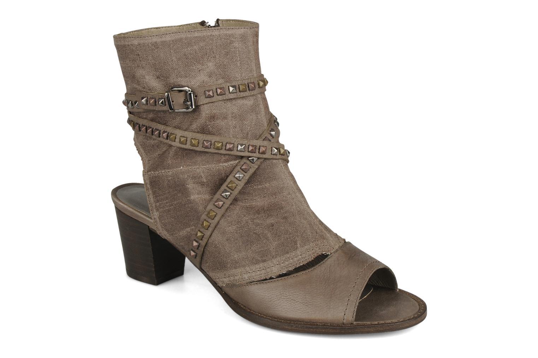 Sandales et nu-pieds Muratti Bergen Marron vue détail/paire