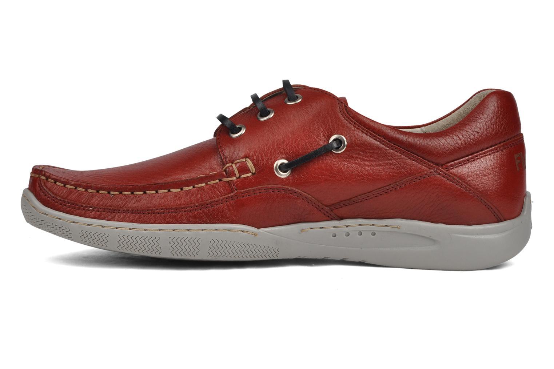 Zapatos con cordones Fluchos Desafio 7175 Rojo vista de frente