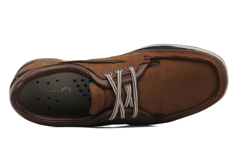 Orson lace Dark Brown Lea