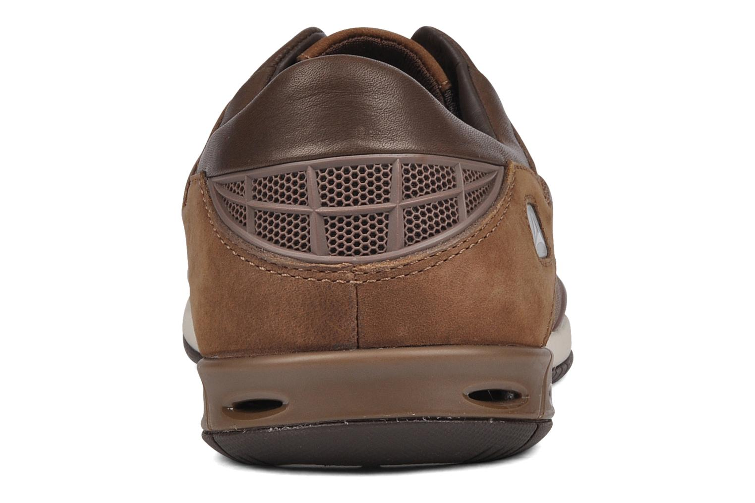 Orson lace Brown leather